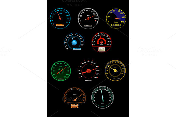 Speedometers And Speed Dials