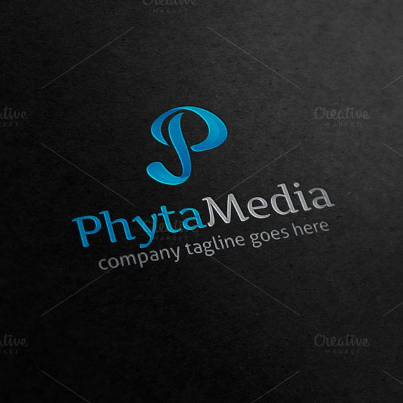 Phyta Media Letter P Logo