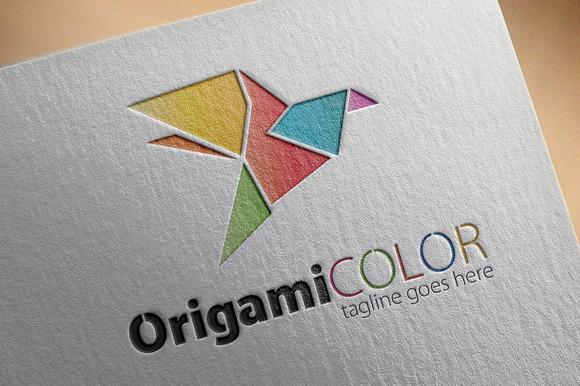 Origami Color Logo