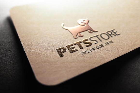 Pets Store Logo