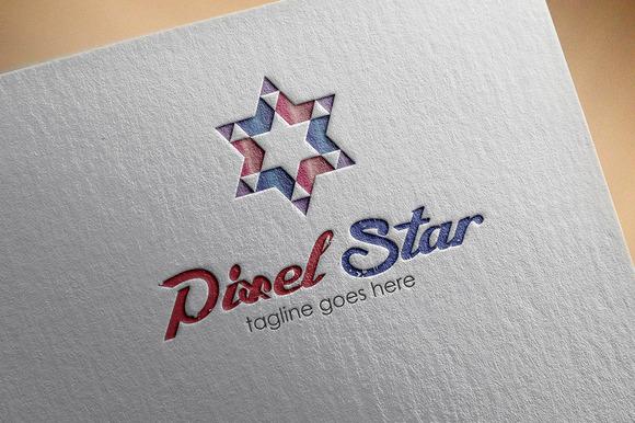 Pixel Star Logo