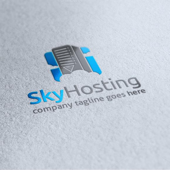 Sky Hosting Logo