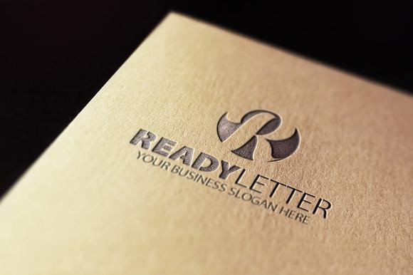 Ready R Letter Logo
