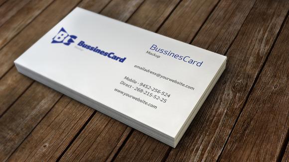 Bussines Card Mockup