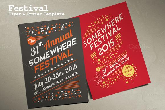 Festival Flyer Poster Template
