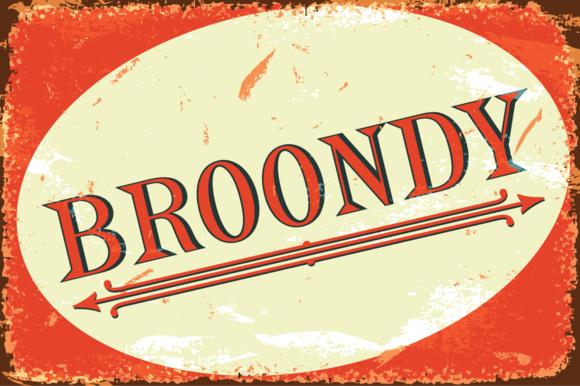 Broondy Serif Font Pack