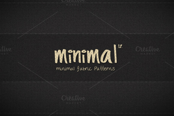12 Minimal Fabric Patterns