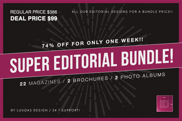 Super Editorial Bundle