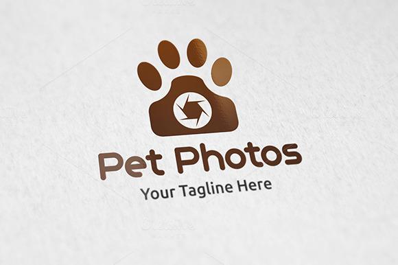 Pet Photos Logo Template