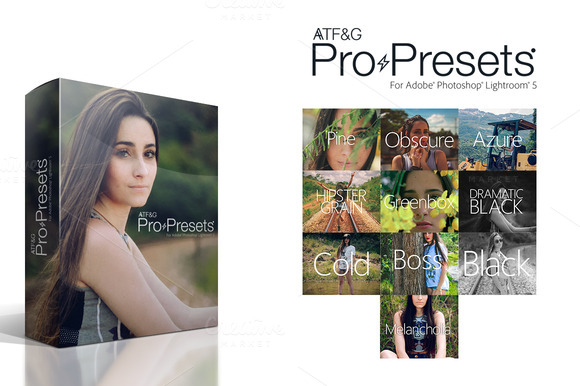 ATF G Pro Presets For Lightroom