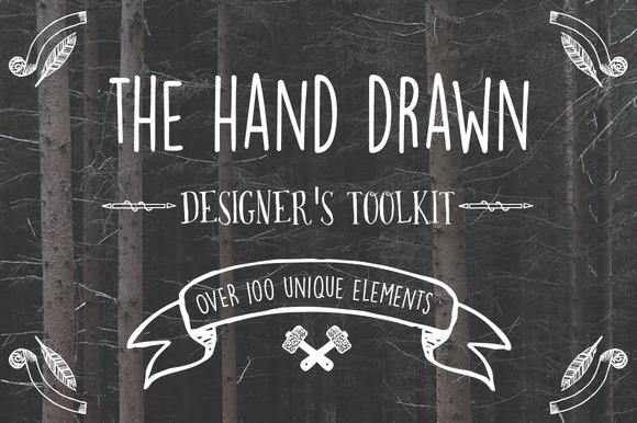 Hand Drawn Designer S Toolkit