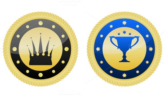 Two Golden Badges