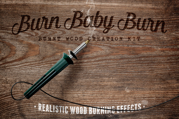Burn Baby Burn Woodburning FX Kit