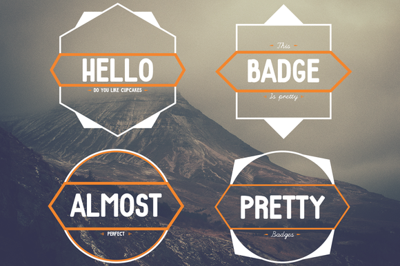 Pretty Badges 4 Templates