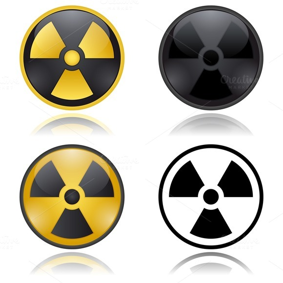 Radioactivity Warning Signs