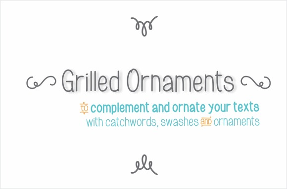 Grilled Ornaments