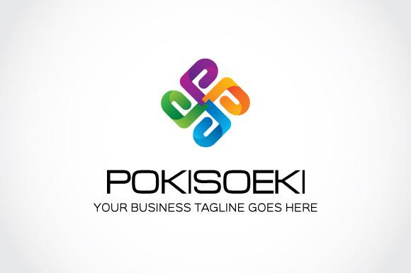 Pokisoeki Logo Template