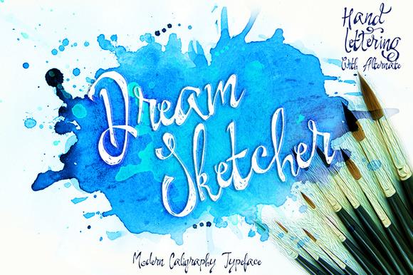 Dream Sketcher Font