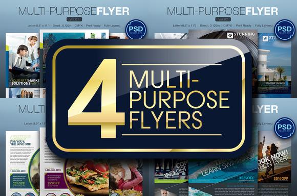 Multipurpose Flyer Bundle