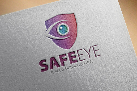 Safe Eye Logo