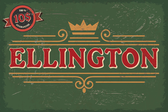 Ellington Font