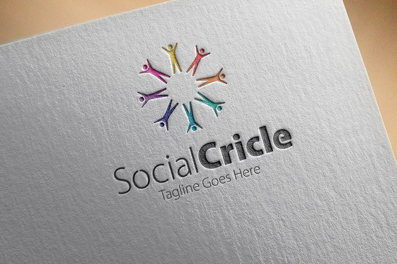 Social Cricle Logo