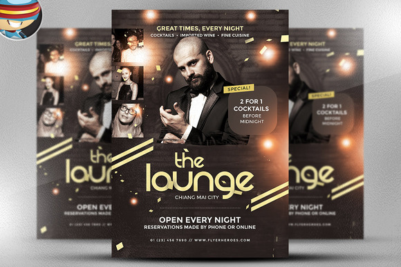 The Lounge Flyer Template