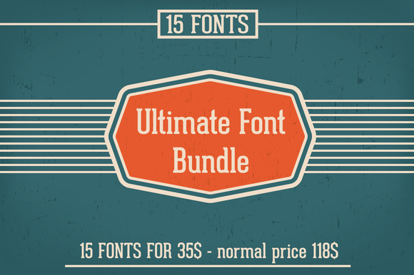15 Fonts Bundle