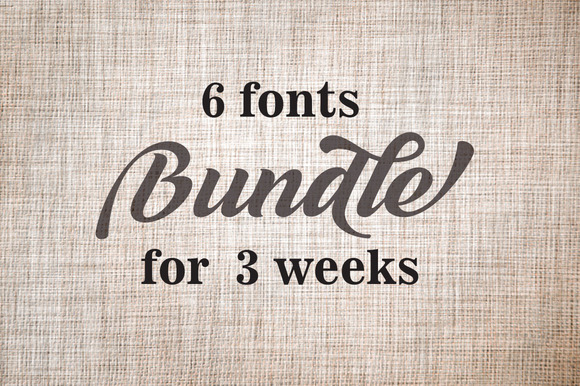 Bundle Fonts