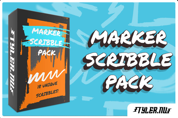 Marker Scribble Pack
