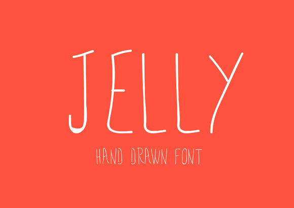 Jelly Hand Drawn Font