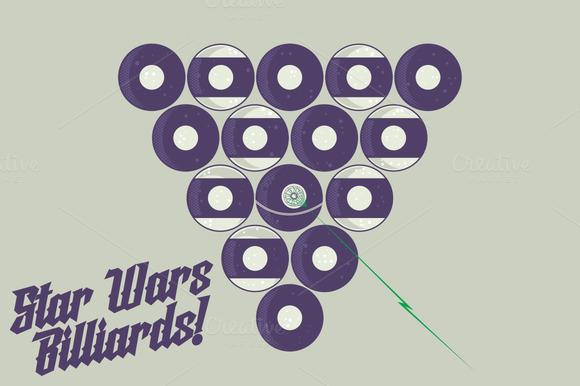 Star Wars Billiards