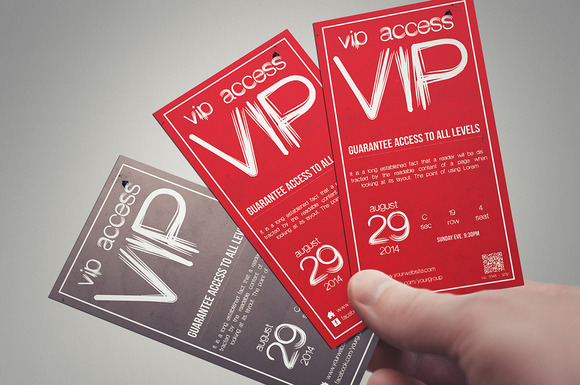 Multipurpose Simple VIP PASS
