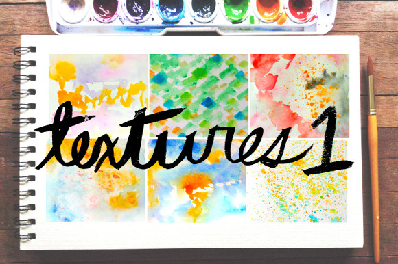 Watercolor Textures Pack 1