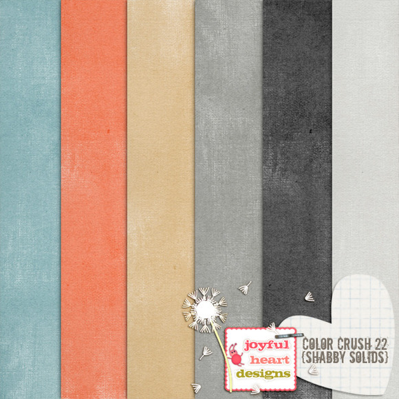 Color Crush 22 {shabby Solids}