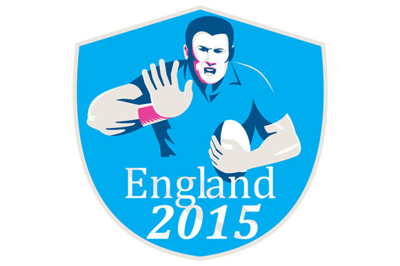 Rugby Player Fending England 2015 Sh