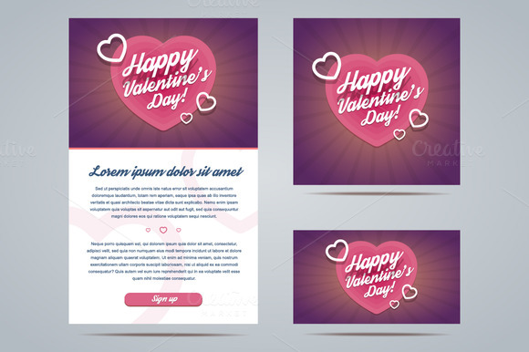 Happy Valentine S Day Templates