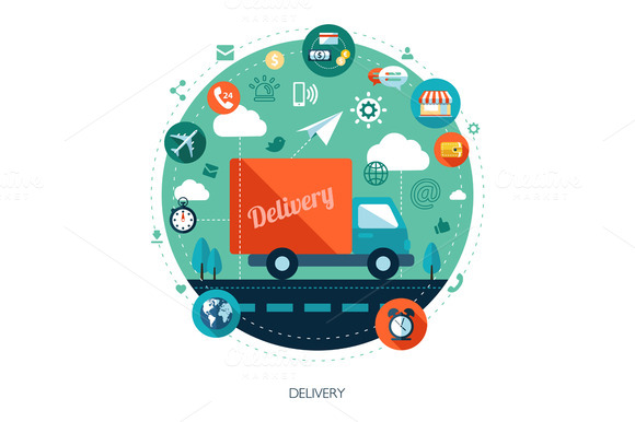Delivery Business Illustration