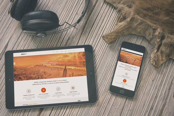 Asher Multipurpose Theme