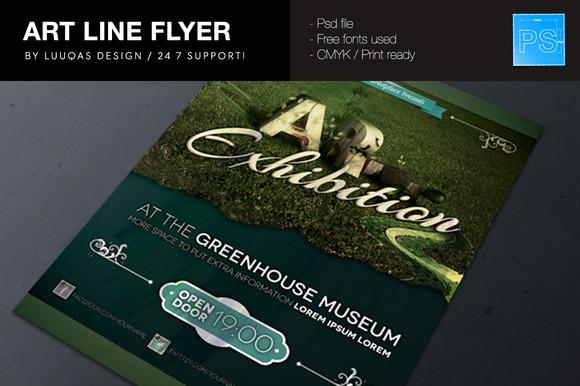 Art Line Flyer