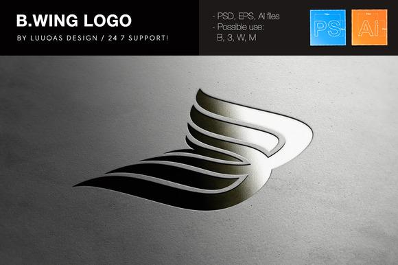 B.Wing Company Logo