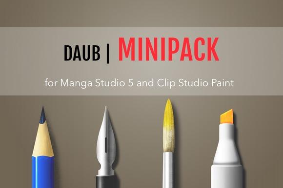 DAUB MiniPack For Manga Studio 5