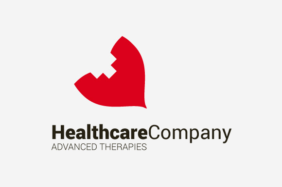 Healthcare Company Logo Template