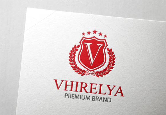 Vhirelya Letter V Logo