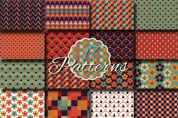 Funky Patterns Swatches
