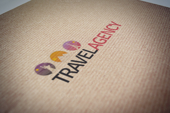 Travel Agency Logo Template