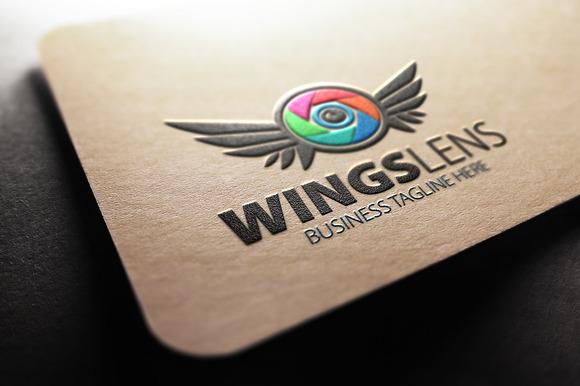 Wings Lens Logo