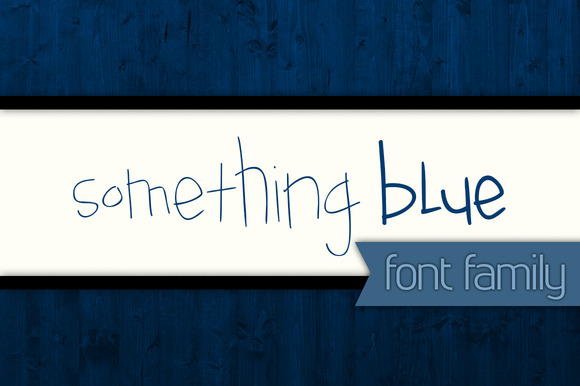 Something Blue Font Family