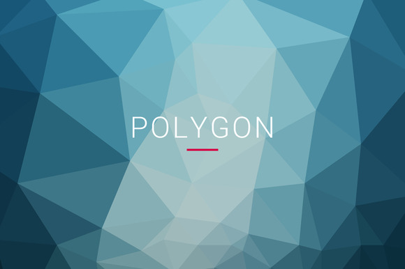 40 Polygon Backgrounds