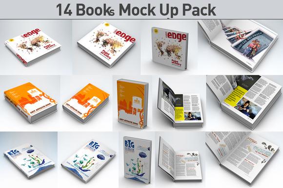 Book Pack Mock Up